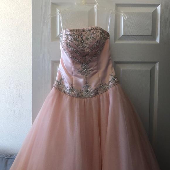 Tiffany Designs Dresses & Skirts - Blush pink princess dress